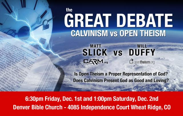 Calvinism vs. Open Theism